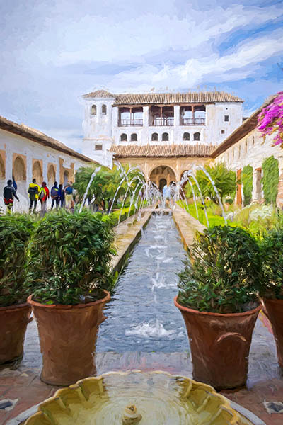 Gardens Generalife - AlHambra, Granada