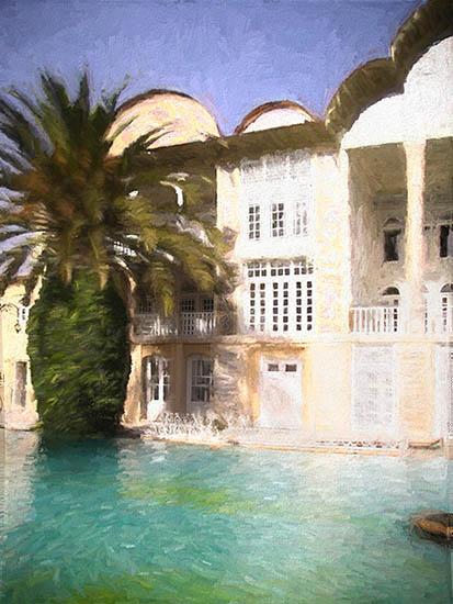 Islamic Gardens - Shiraz Eram - Iran
