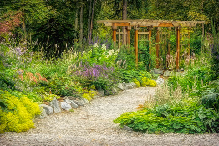 Alaska Botanical Garden Anchorage, Lower Perennial Garden