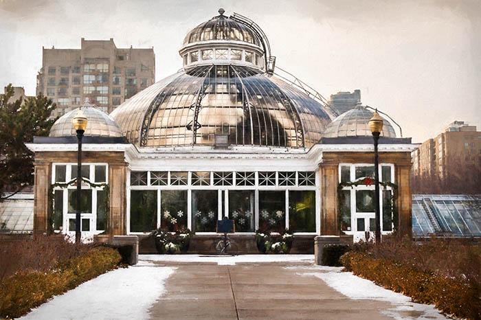 Allan Gardens Conservatory In Winter