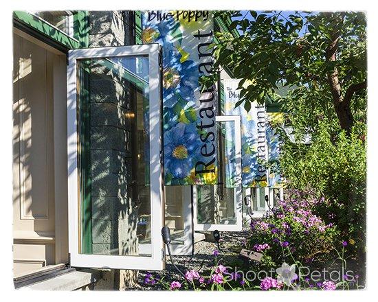 Blue Poppy Restaurant at Butchart Gardens
