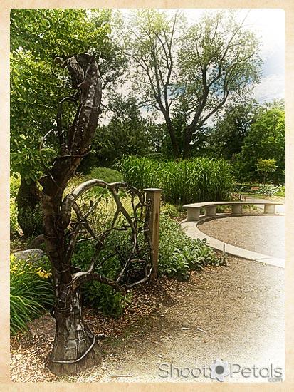 Gate to the Children's Garden, Toronto Island