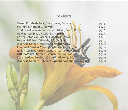 Garden Impressions PDF Contents