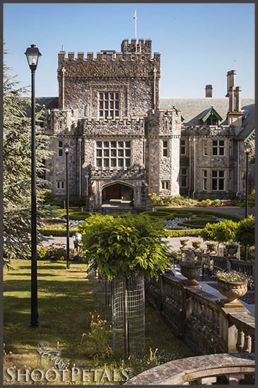 Hatley Castle View From Royal Roads College