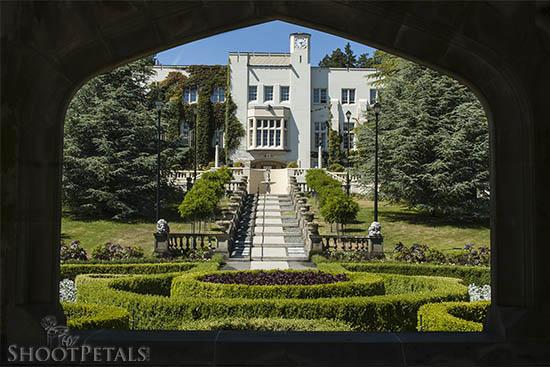 Royal Roads College From Hatley Castle Door