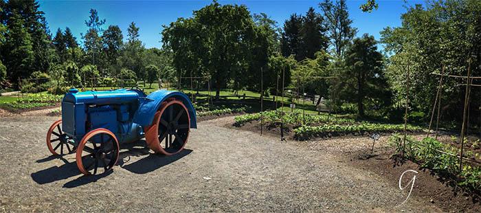 iPhoneography Panorama VanDusen - Farm Garden