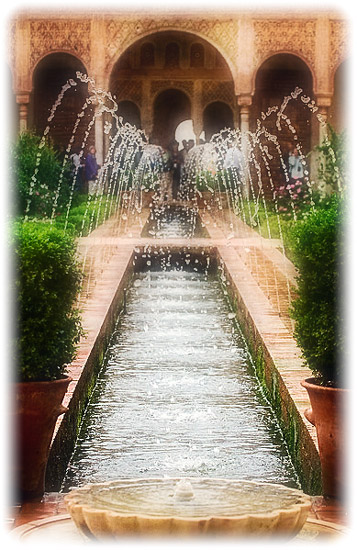 Islamic Gardens - Generalife at the Alhambra
