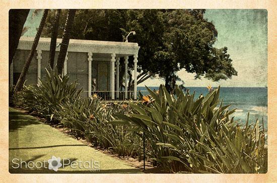 Shangri La View of the Lanai, Ocean and Garden
