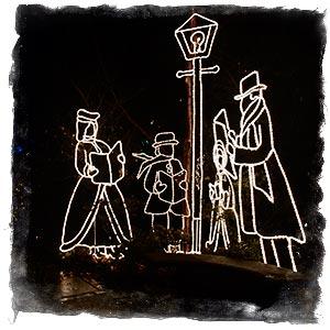 Park Tilford Festival of Lights, Carolers