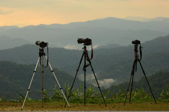 3 camera tripods