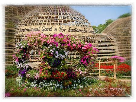 Royal Flora Ratchaphruek sustainable green garden house - bamboo