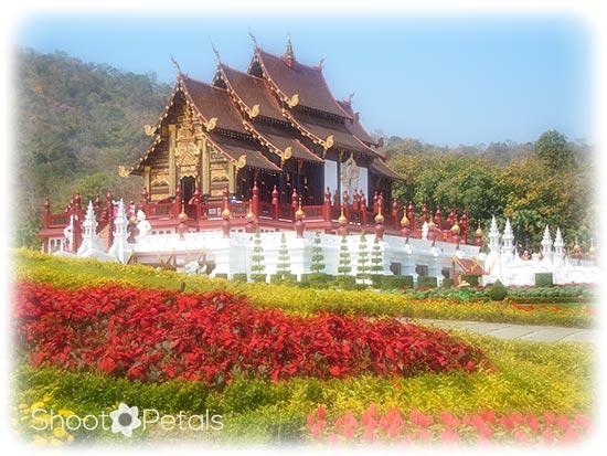 Royal Temple, Royal Flora Ratchephruek, Chiang Mai