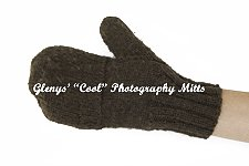 Convertible mitten with fingers covered.
