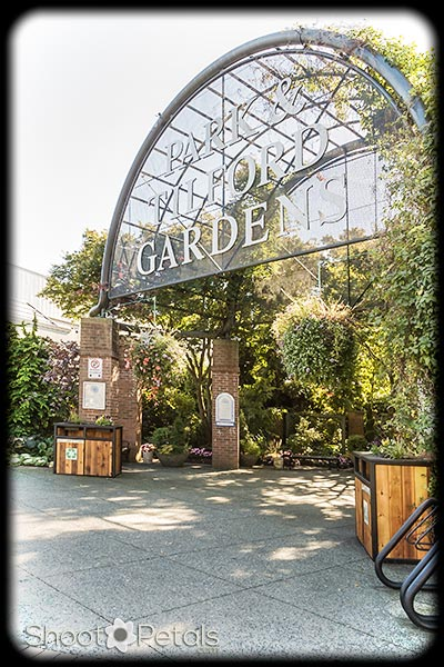 Park Tilford Garden entrance.