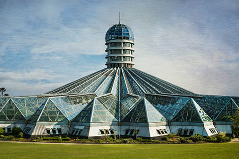 Yeomiji Botanical Gardens Centre Hall and Observatory